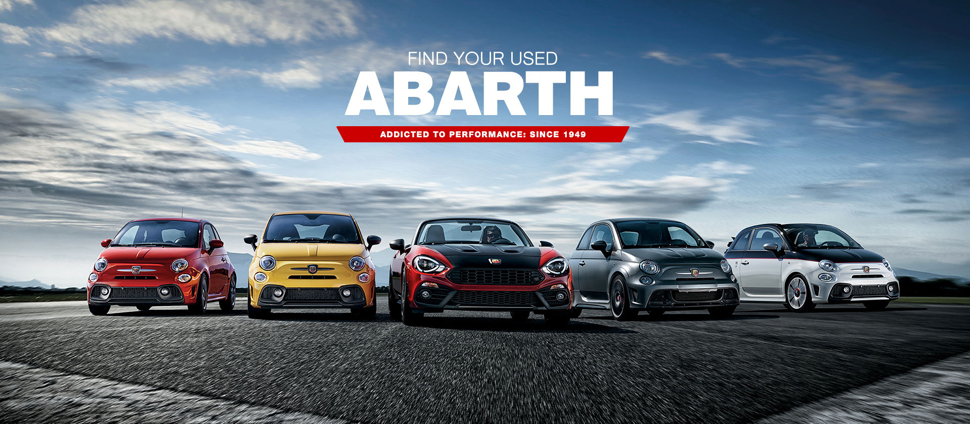 Find Your Used Abarth